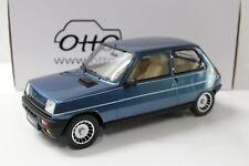 1:12 OTTO mobile G054 Renault 5 R5 Alpine Turbo 1984 Alpine blue