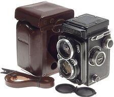 SCHNEIDER TLR 2.8/80 ROLLEIFLEX 120 FILM CAMERA 2.8 f=80mm XENOTAR LENS CASE CAP