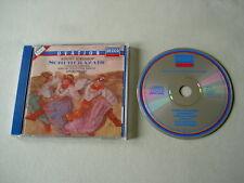 RIMSKY-KORSAKOV Scheherazade/Capriccio espagnol/BORODIN Stokowski CD PDO silver