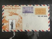 1944 Washington Dc USA Fist Day Cover FDC Special Delivery 17c Photo
