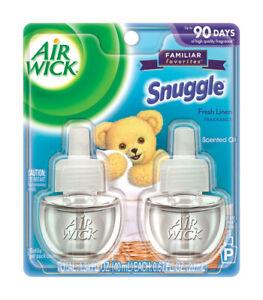 Air Wick  Snuggle  Fresh Linen Scent Air Freshener Oil Warmer  0.67 oz. Liquid