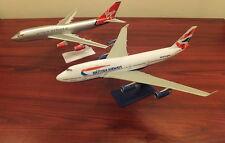 British Airways and Virgin Atlantic Boeing 747 Jumbo Pair Boeing 747 Models New