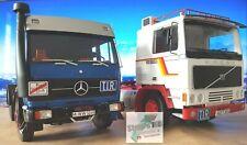 +++ Auf Achse LKW Mercedes NG73 + Volvo f12 Road Kings 1:18 +++