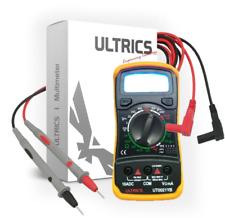 Multimeter Digital LCD Voltmeter Ammeter Ohm AC DC Circuit Tester 1000v 10a
