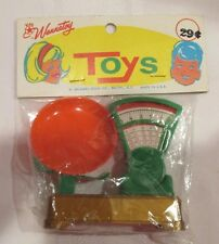 WANNATOY M SHIMMEL SONS NO7700 BLUE BOX TOYS NOS ORIGINAL PKG WITH HEADER
