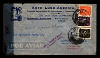 Portugal 1945 Censor Cover to USA - L5853