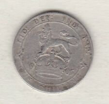 More details for slightly damaged 1905 edward vii silver shilling in good fine condition.