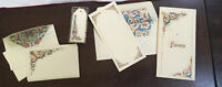 Elegant Lot Of Florentine Paper Note Cards Tags Envelopes Made In Italy