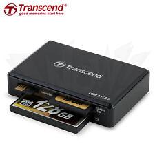Transcend RDF9 microSDHC/XC SDHC/XC UHS-I/II CF card USB 3.1/3.0 Card Reader