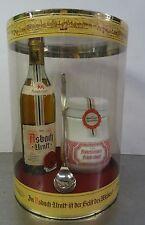 Vintage Rarität orign. verschlossen Asbach Uralt u. Früchtetopf im Display ~70er