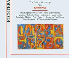 Barton Workshop plays John Cage 3 CDs Etcetera Atlas Eclipticalis