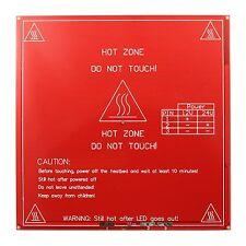 MK2B MKII Heizbett Heatbed Hot Plate PCB 12/24V - RepRap Mendel Prusa 3D Drucker