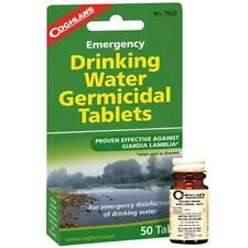 Coghlan's 7620 Iodine-Based Emergency Drinking Water Germicidal Tablets 50 Pack