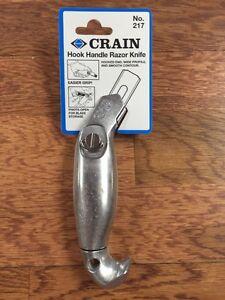 Crain 217 Hook Handle Carpet Knife