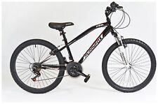 Muddyfox Prevail Hardtail 24 Inch Wheels 18 Speed Children's Boys Bike - Black