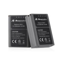 2Pcs 2000mAh BLN-1 BLN1 Battery for Olympus BCN-1 OM-D E-M1 Pen F E-M5 Mark II