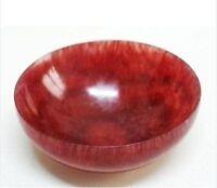 Diameter: 10.5 cm * / rare Chinese natural red jade bowl