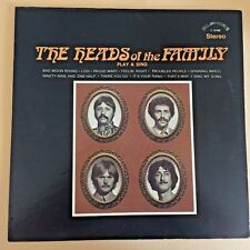 ROCK LP-The Heads Of The Family-PLAY AND SING-ALSHIRE 1969 Stereo 12'' Original