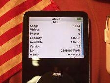 480GB iPod Video BLACK 5th 5.5th Gen SSD 512 GB *MADE IN USA* >256GB/240GB/160GB