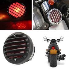 Motorcycle Round Tail Brake Light Lamp for Harley Bobber Chopper Custom