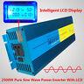 LCD DISPLAY Pure Sine Wave power inverter 2500W Peak 5000W DC 12V TO AC 220V