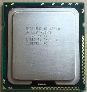 Intel Xeon X5680 3.33 GHz 12M Six Core Processor Socket 1366 CPU X58