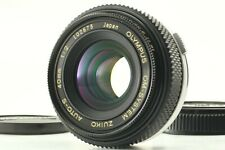 【As-is】 Olympus OM System 40mm F2 Zuiko Auto S Pancake MF Lens From JAPAN #651