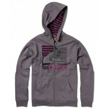 NEW BOYS QUIKSILVER GOAL LEE SWEATSHIRT HOODIE SMOKE X-LARGE 20