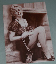Two Marilyn Monroe Black & White Photo Post Card