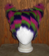 ZIGZAG KITTY PUSSY CAT CHESHIRE FUR EAR HAT WIG WOMENS RIGHT MARCH SNOW KITTEN