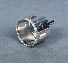 "50mm ( 2"") Diamond Tip Hole Saw Bit for 1 1/4"" Bulkhead, Aquarium Overflow"