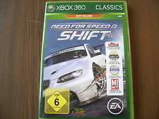 Need for Speed-SHIFT (XBOX 360) MERCE NUOVA NEW