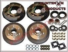 """10"""" Parallel Trailer Electric Brake Kit. S.G Cast Drums. Caravan, Camper Brakes"""