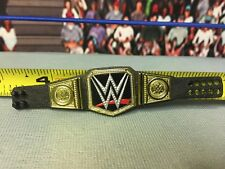 WWE Wrestling Mattel Elite World Smackdown Title Belt Championship New Logo
