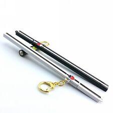 Naruto Sasuke Kusanagi Grass Cutter Sword Keychain 17cm Cosplay White/Black