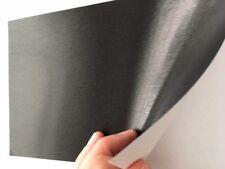 Premium Vinyl Brushed Black Stainless Steel-Peel Stick Wrap-Dishwasher sz 24x30