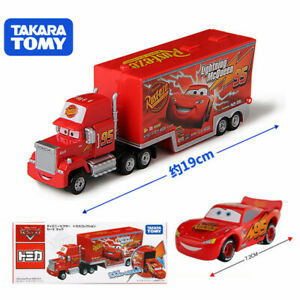 Takara Tomy Disney Cars MAC Lightning McQueen Hauler Truck Diecast Model Toy F/S