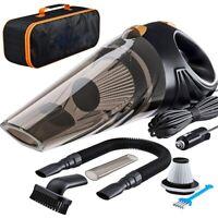 Portable Auto Car Vacuum Cleaner Mini Vehicle Wash Cyclonic Wet Dry Handheld 12V