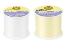 Coats & Clark ~ Glow in the Dark ~ Thread ~ 100 yard spools