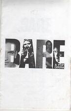 BARE A Pop Opera 2004 New York Program Michael Arden Jenna Leigh Green reprint