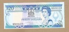 FIJI: 20 Dollars Banknote,(UNC),P-88a, 1988,No Reserve!