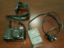 Canon PowerShot G12 Digital Camera used with battery and charger (no SD card)