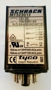 Schrack plug-in relay  MT323012 switching relay plug-in relay