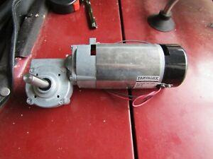 Parvalux PM6 Geared Motor 24Vdc, 66 rpm, 200w 102A H7FL PM6-0011/CONT