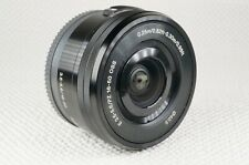 Sony SELP1650 16-50mm F/3.5-5.6 PZ OSS Lens - With Caps - Sony E Mount