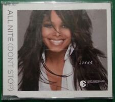 JANET JACKSON - All Nite (Don't Stop) CD Single - 2004 4 track CDS with remix