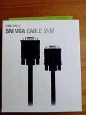 5M VGA Cable Male to Male