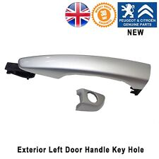 Citroen Berlingo C3 C4 Cactus Door Handle Key hole Front Right Rear New Silver