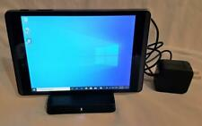 "HP Pro Tablet 608 G1 1.44GHz 4GB 64GB 7.86"" Touchscreen Win 10 WiFi W/Dock"