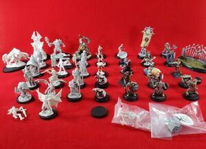 Reaper Miniatures Lot 40 Treasure Dark Heaven Legends Unpainted Plastic figures